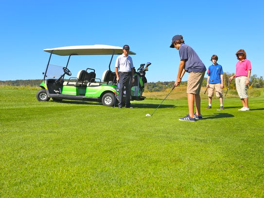Fairways are for families at Crystal Springs' Minerals