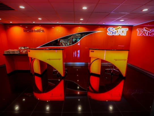 Sixt Rent A Car, near Southwest Florida International Airport in Fort Myers, promises to have a different vibe than standard rental car agencies.