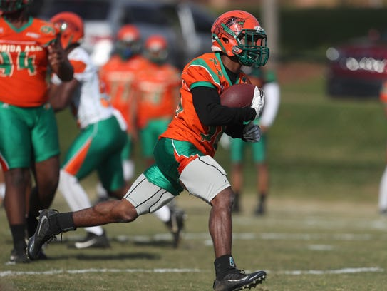 FAMU holds the second day of their spring practice