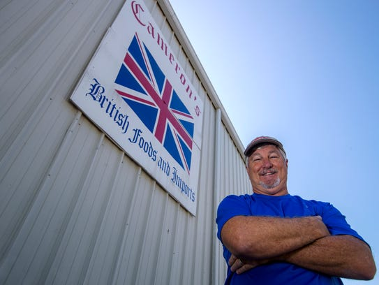 Don Cameron is the owner of Cameron's British Foods