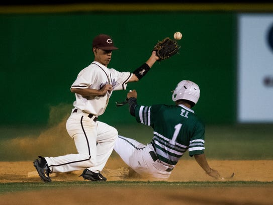 Calallen vs. King during the District 30-5A championship