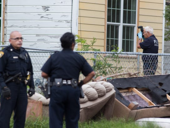 Corpus Christi police investigate a shooting in the