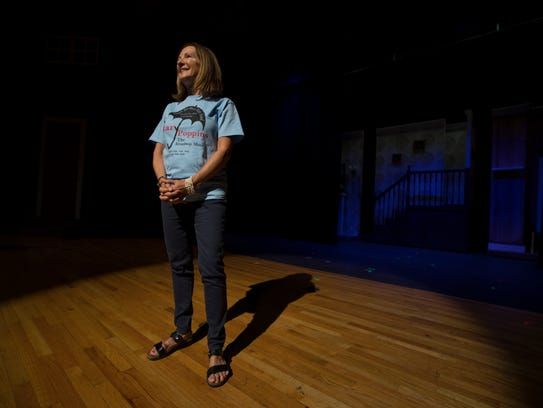 North Fort Myers High School teacher Michele Whitener, is retiring from teaching after 40 years. Her production of the musical Mary Poppins was be her last at the school.