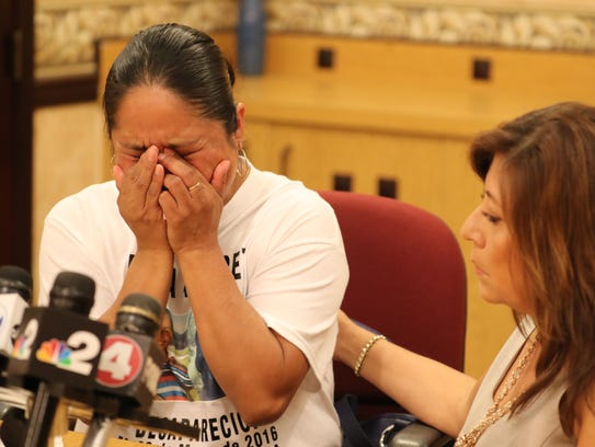 Rita Hernandez, Diana Alvarez's mother, spoke through