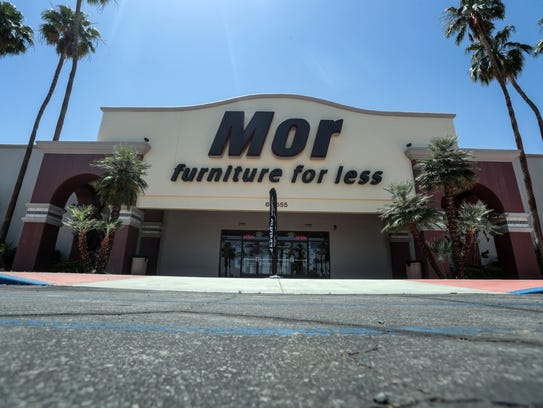 Mor Furniture story in Cathedral City on Thursday,
