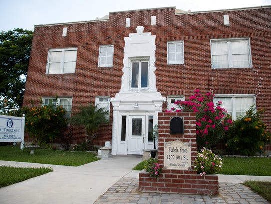 The Wenholz House & Corporate Office located on 10th