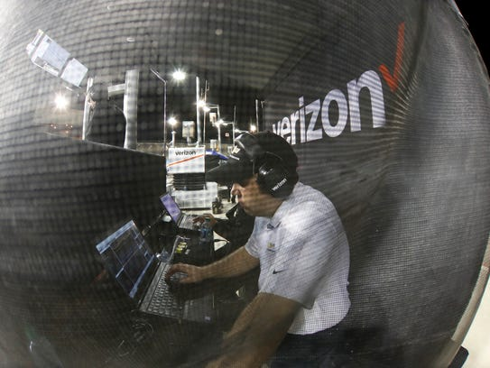 Ilmor engineers work closely with all Chevy INDYCAR