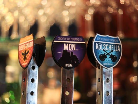 Paul Bar serves beer on tap in Palm Springs, Calif.