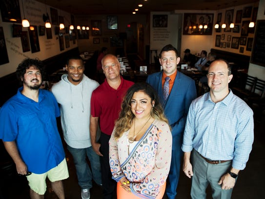 Cape Coral's Varshalynn Natal founded the Men's Network.