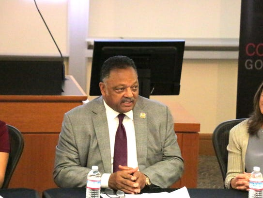 Rev. Jesse Jackson, Sr. at the USA TODAY tech diversity