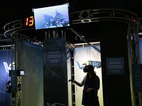 Virtual reality makes kids out of all of us for Virtual reality fishing