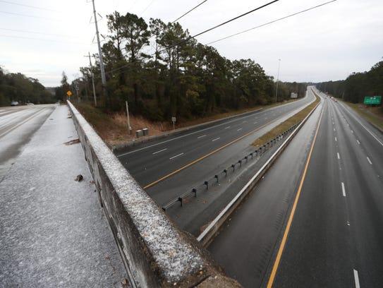 Interstate 10 is shut down between the Thomasville