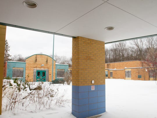 The former Hamburg Elementary sat vacant for years.
