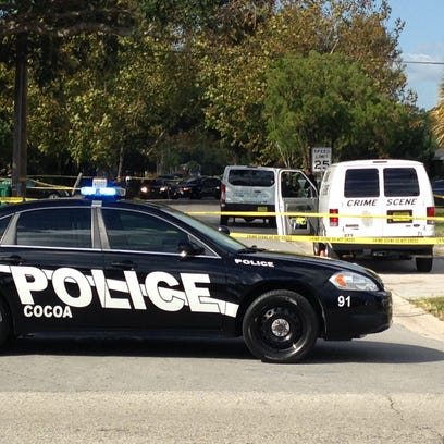 Investigators were at the scene of a fatal shooting