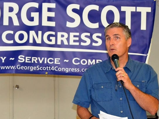 George Scott, a Democratic candidate for Pennsylvania's