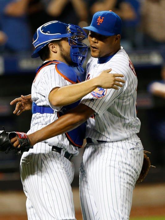 USP MLB: KANSAS CITY ROYALS AT NEW YORK METS S BBN USA NY