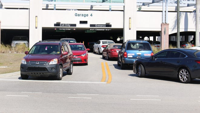 A parking committee at Florida Gulf Coast University suggests banning students from parking in Garage 4 to help with traffic congestion. The parking garage is popular among students because it is close to a cluster of academic buildings.