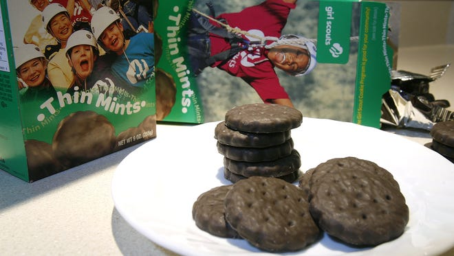Thin Mints are the most popular flavor of Girl Scout cookies.