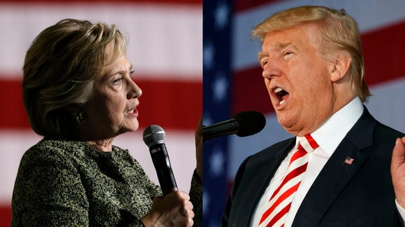 Hillary Clintona dn Donald Trump will face off in the last presidential debate on Oct. 19.