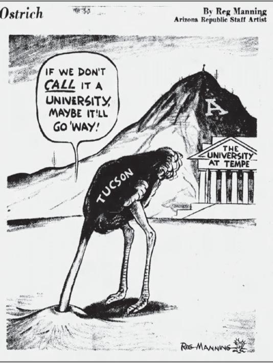 Reg Manning Ostrich cartoon