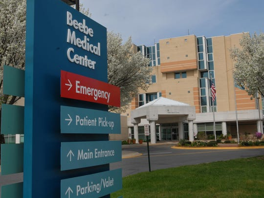 Beebe Medical Center in Lewes.
