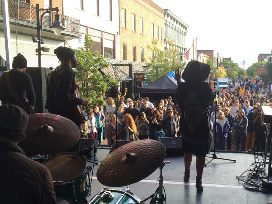 Kat Wright and the Indomitable Soul Band perform Wednesday