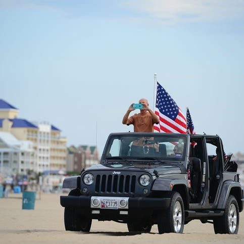 Ocean City Jeep Week features new beach obstacle course