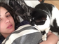Adelaide Kane wakes up to cuddles from her adorable