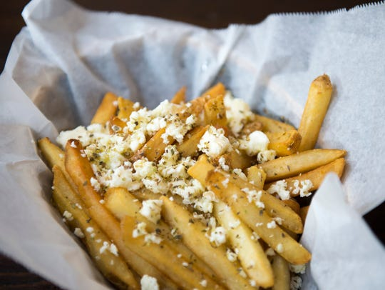 Feta fries from Yeeroh in Philadelphia.