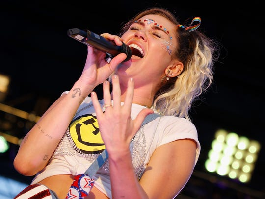 Miley Cyrus is 'Younger Now' on her new album.