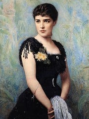 Jennie Jerome, Winston Churchill's mother, who wasn't