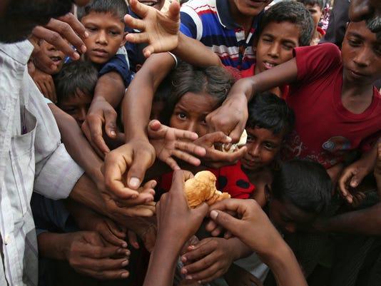 AP BANGLADESH MYANMAR ATTACKS I BGD