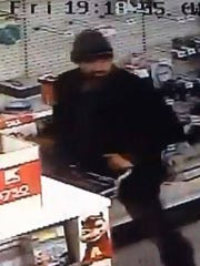 Police are asking for the public's help to identify thisman suspected of robbery.