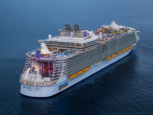The Most Amazing Giant Cruise Ships - Huge cruise ship