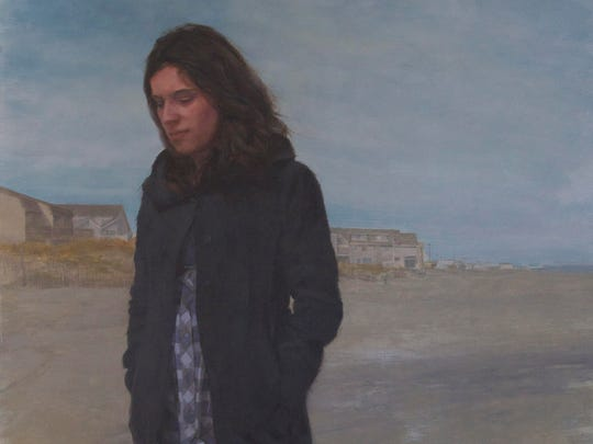 """A detail from Mario Robinson's """"Windswept"""""""