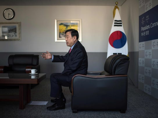 Lee Hee-Beom is president and CEO of the Pyeongchang