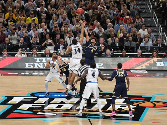 The NCAA tournament national championship game against