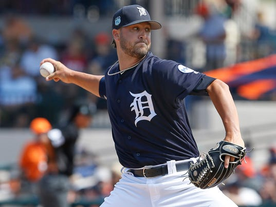 MLB: Spring Training-Toronto Blue Jays at Detroit Tigers