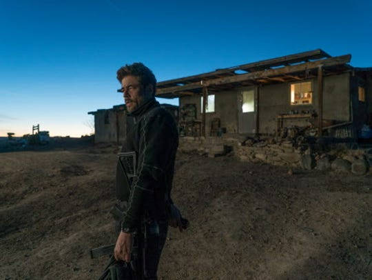 "Benicio Del Toro's killer has tough decisions to make in ""Sicario: Day of the Soldado."""