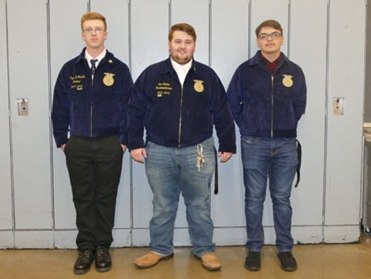 Cumberland Regional High School's Meat Evaluation Team