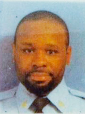 This undated file photo shows Lt. Steven Floyd, who died in a February 2017 inmate riot and hostage standoff at the James T. Vaughn Correctional Center near Smyrna.