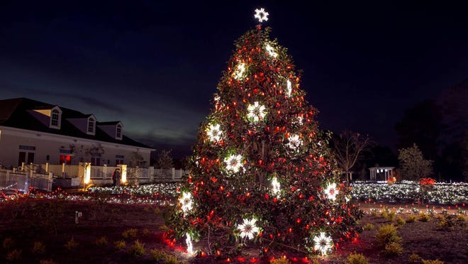 The light display will be open from 6 to 9 p.m. November 27, 28, and 29 as well as December 3, 4, 5, 6, and then the 10 through the 24. The cost this year is $25 per car.