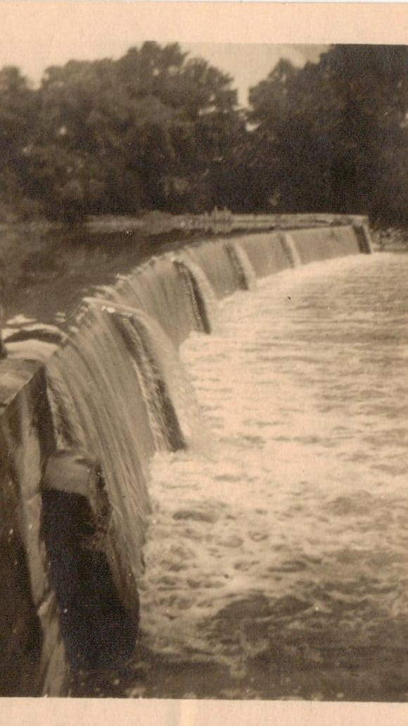 Dean Messerly shared this photo of Dick's Dam in the New Oxford ara around 1928. He's wondering about the time at which the area was open to the public for recreation.