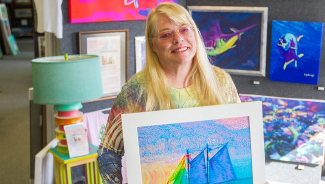 Hilary Hemingway is a painter and writer who grew up in Miami and the Bahamas. She is the neice of Ernest Hemingway and wife of Jeff Lindsay, the author of the Dexter series of novels.