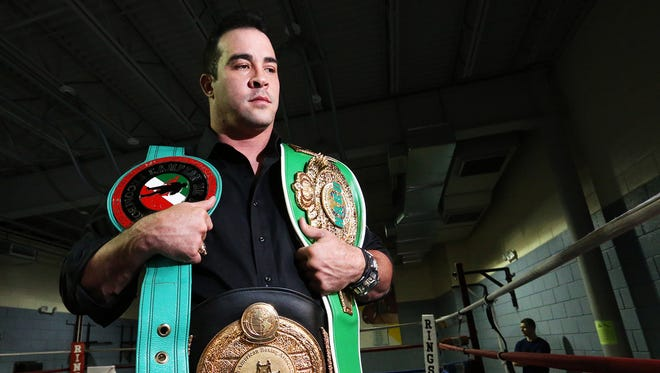 "Retired Boxer David Rodriguez has written a book, ""When the Lights Go Out,"" about his life in the ring and out."
