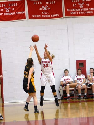 Gabby Kinzler had three blocks, three steals, two assists and two rebounds for Glen Ridge in its season opener.