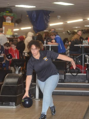 Sophomore Arielle Wallace has an average of 183 for Hackensack.