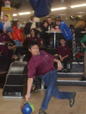 Johann Gamo of Clifton rolled a 719 series at the Passaic County tournament.