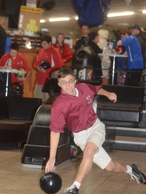 Trevor Deliantis had a high game of 258 and a high series of 696 for Becton.
