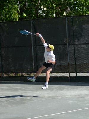 William Cotrone earned first singles wins for Glen Ridge against Bernards, Nutley and West Essex twice.